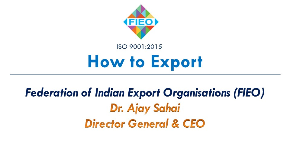 How To Export